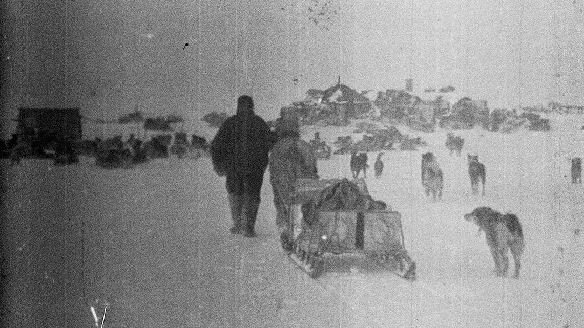 國家地理的第一支影片 記錄著混亂的極地遠征隊
