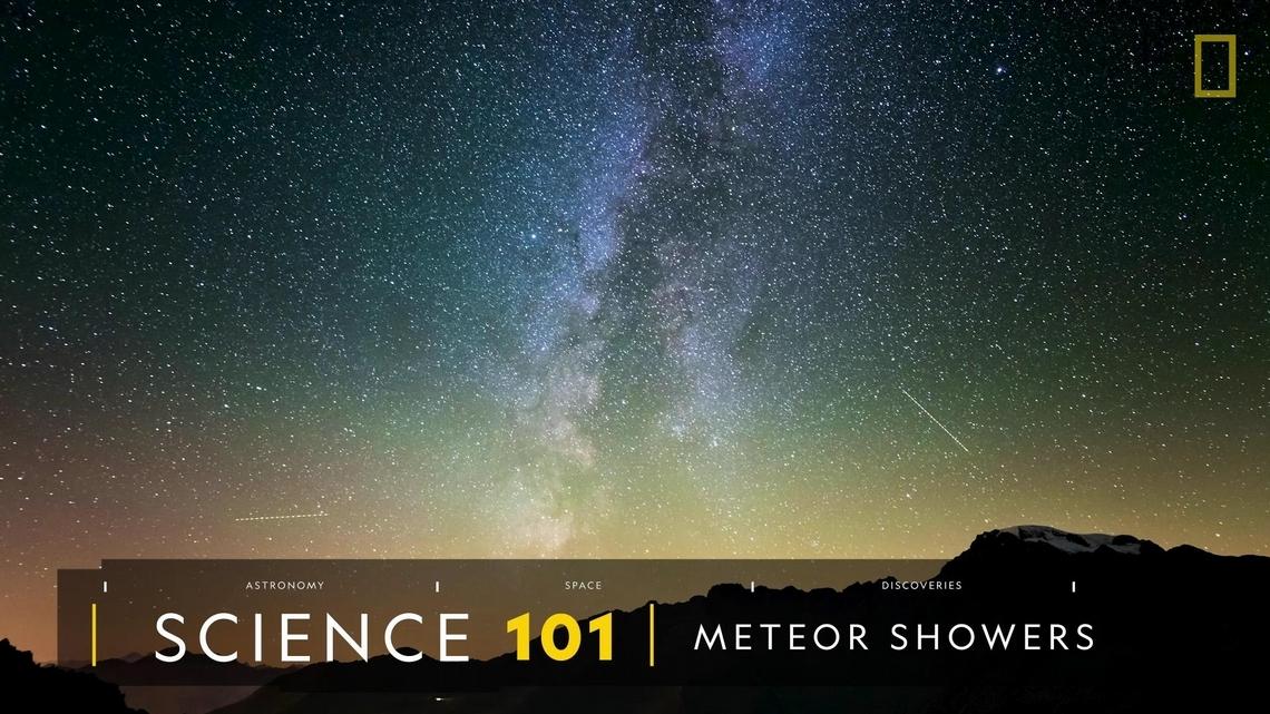 101科學教室:流星雨