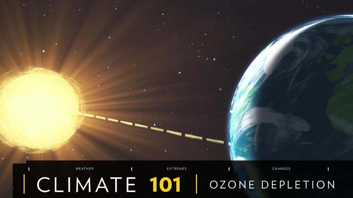 101科學教室:臭氧層空洞