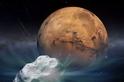 彗星逼近火星,軌道探測器當心!