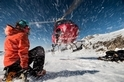直升機雪花