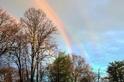 美國紐約州驚現四道彩虹