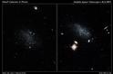 哈伯發現一對正衝向銀河系的矮星系