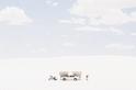 白色酷暑:白沙國家公園