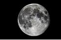 月亮上的人影