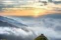 山頂上的日出