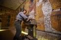 雷達掃描顯示圖坦卡門墓室裡藏有密室