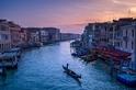 水都日落:威尼斯大運河