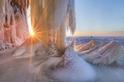 夕陽餘暉:蘇必略湖