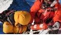 偶然巧遇,救了聖母峰登山客的命