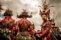 巴布亞新幾亞(Papua New Guinea)的 Huli Wigmen 部落