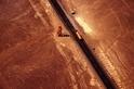 空中俯視:神祕地畫