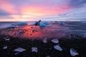 冰河湖晨曦