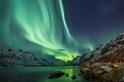 在北歐邂逅極光的優雅