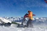 直升機滑雪