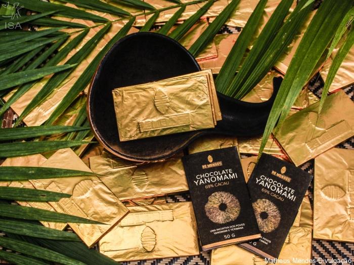 顧客很樂意購買高價的亞諾馬米巧克力,以彌補非法淘金造成的破壞。 圖片來源:ISA
