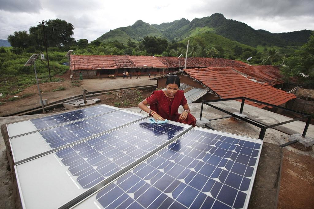 COVID-19影響了開發中國家今年更新氣候行動計畫的步調。照片來源:Abbie Trayler-Smith / Panos Pictures /國際發展部