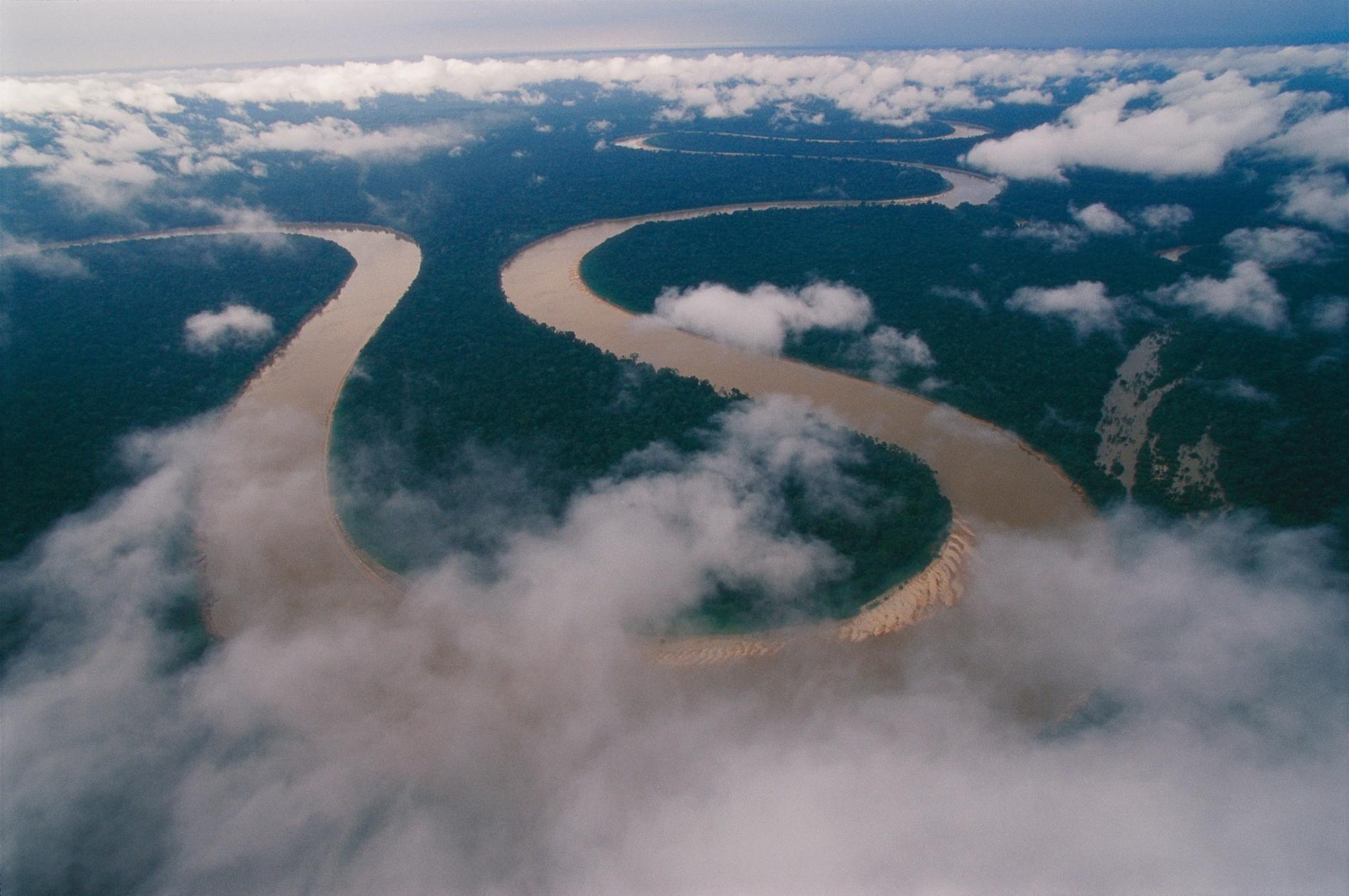 伊塔瓜伊河(Itaquaí River)蜿蜒穿過巴西最西邊的亞馬遜地區,深入查瓦利溪谷原住民保留區(Javari Valley Indigenous Territory);在這個廣大的保留區內,有著全球最遺世獨立的未接觸部落。醫療專家和人權倡議團體擔心,假如新型冠狀病毒傳播到這些原住民部落中,可能會發生滅族慘劇。他們呼籲巴西政府採取緊急應變行動保護這些脆弱的部落,不要讓外人進入原住民領域。PHOTOGRAPH BY NICOLAS REYNARD, NAT GEO IMAGE COLLECTION