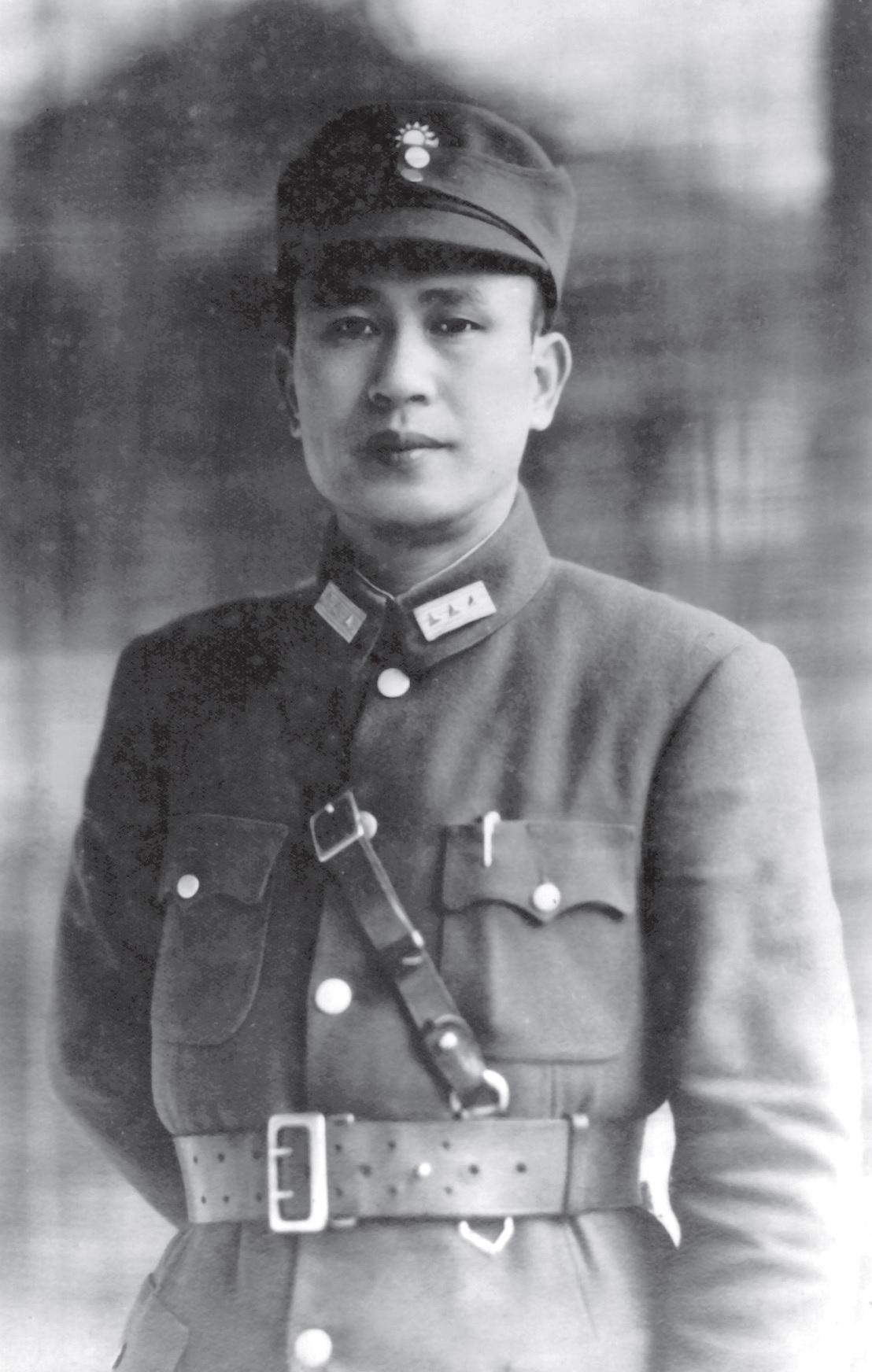 抗日戰爭爆發初期,日本報紙稱父親為「戰神」。照片提供:白先勇