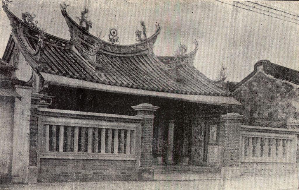 西來庵是一座瘟神廟,主神為五福大帝(五瘟神),是余清芳的起義基地。 圖片來源│康豹提供