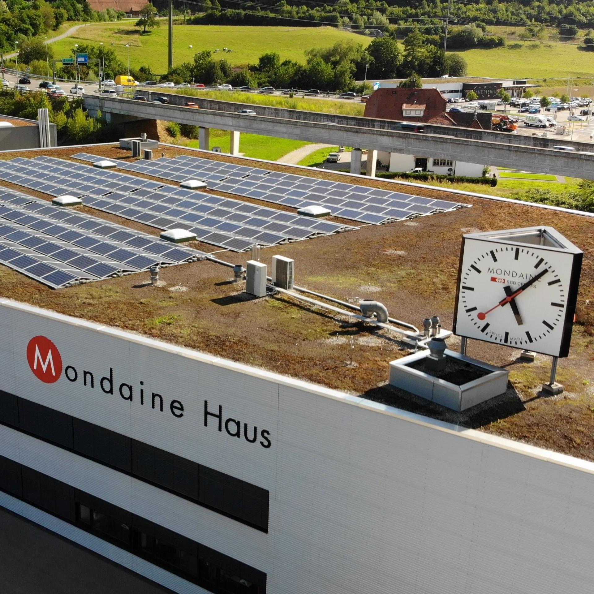 瑞士Mondaine錶廠屋頂