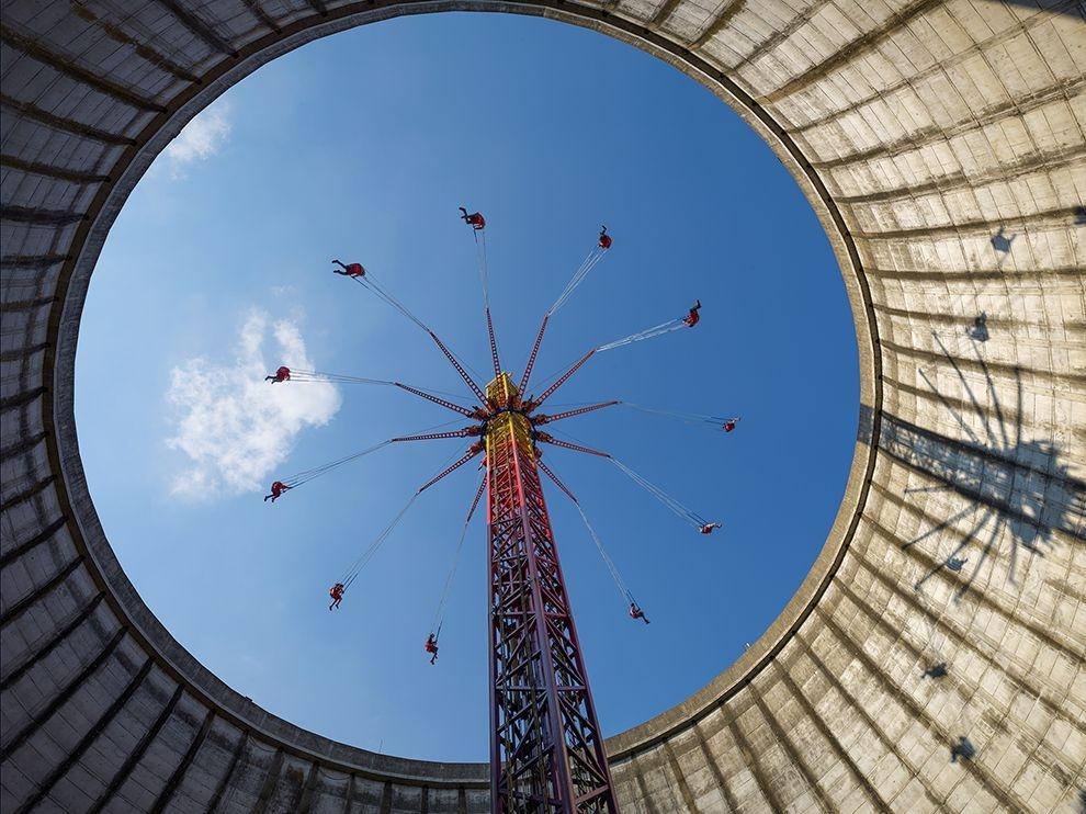 從核電廠到遊樂園
