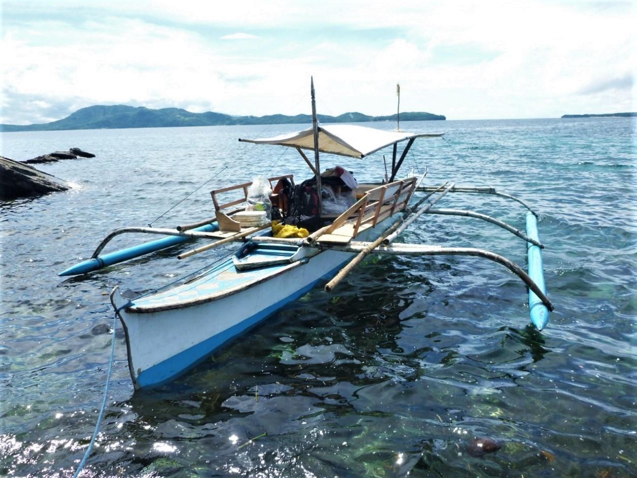 只要幾千臺幣就能租上一整天的螃蟹船。攝影:杜銘章