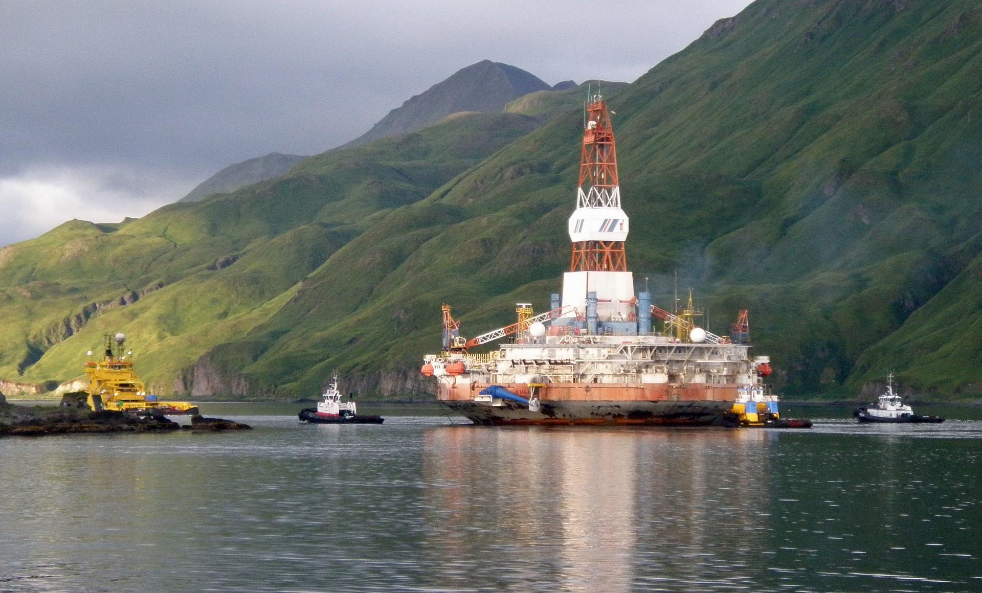 荷蘭皇家殼牌公司鑽油平台。照片來源:Thomas Doyle(CC BY-NC-ND 2.0)
