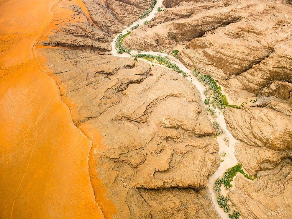 納米比沙漠之上