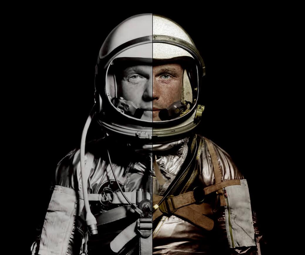 PHOTO: NASA; COLORIZATION BY MATT LOUGHREY, MY COLORFUL PAST