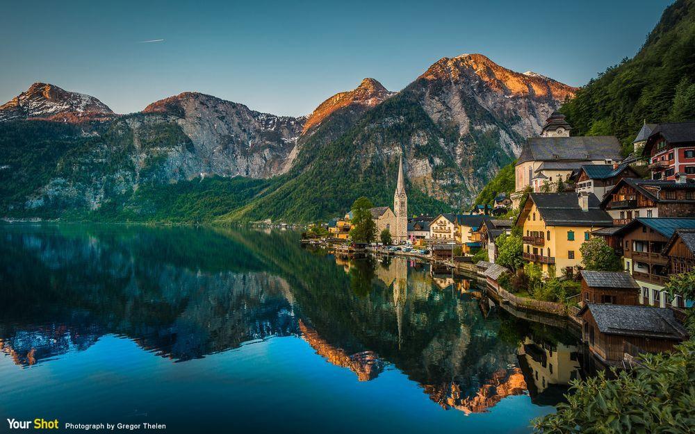 美哉奧地利村莊