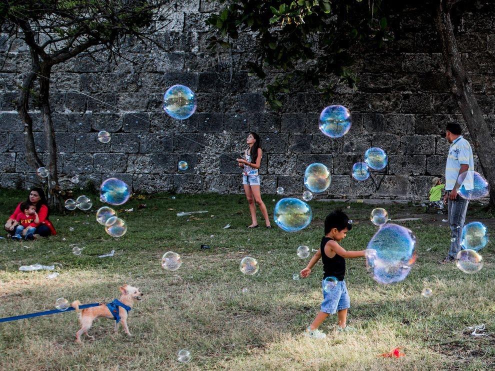 卡塔赫納:彩色泡泡
