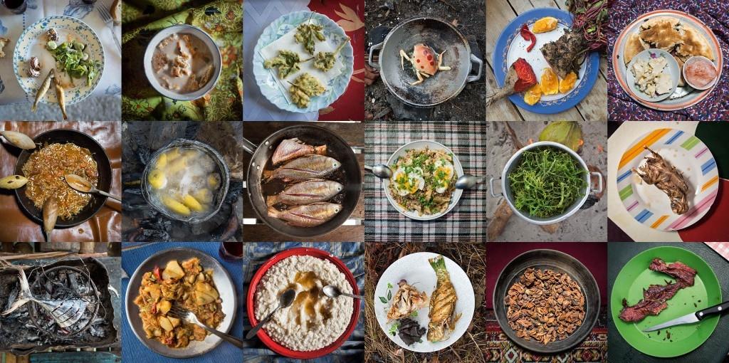 影像藝廊:飲食的演化