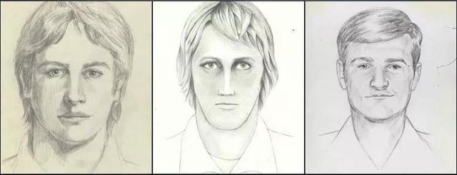 FBI 2016 年重點關注的三幅草圖。圖片來源:Wikmedia Commons