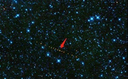 一顆已經被觀測到的近地小行星  NASA