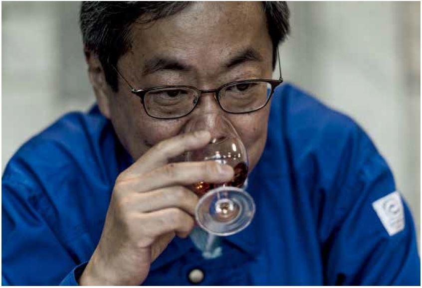 佐久間正是Nikka 威士忌背後的革新者,同時也是竹鶴政孝的繼承人。