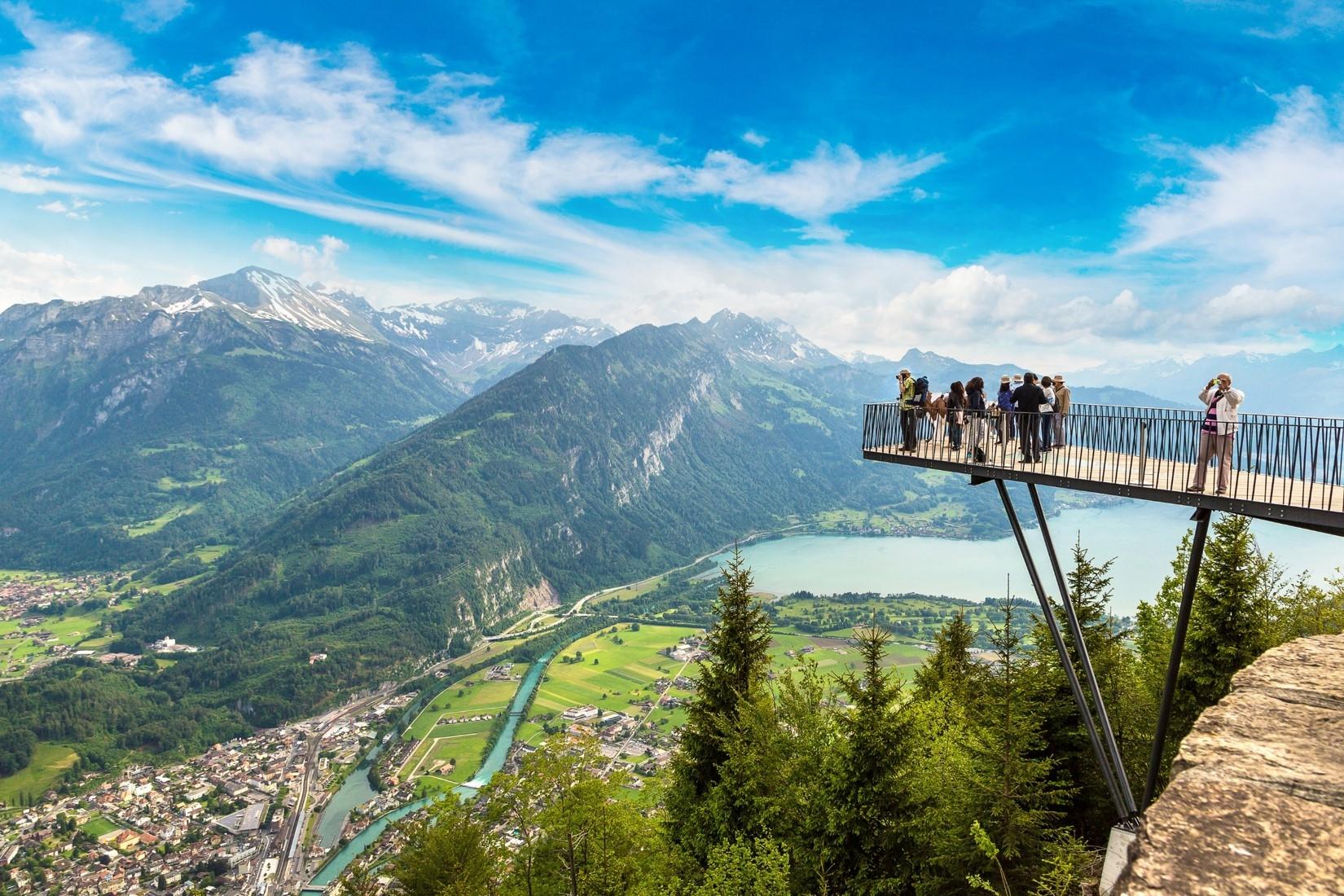瑞士少女峰觀景台