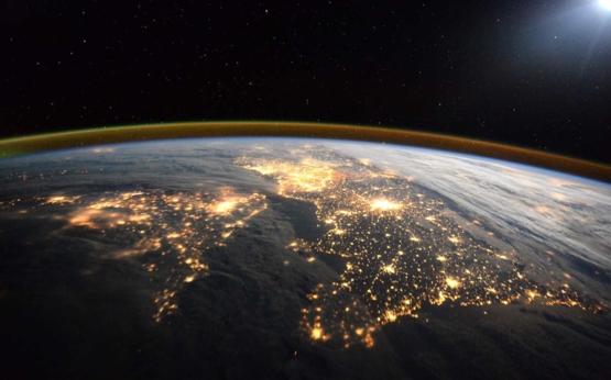 家,美麗的家。歐洲太空總署太空人提姆.皮克(Tim Peake)攝於國際太空站。圖片來源:ESA