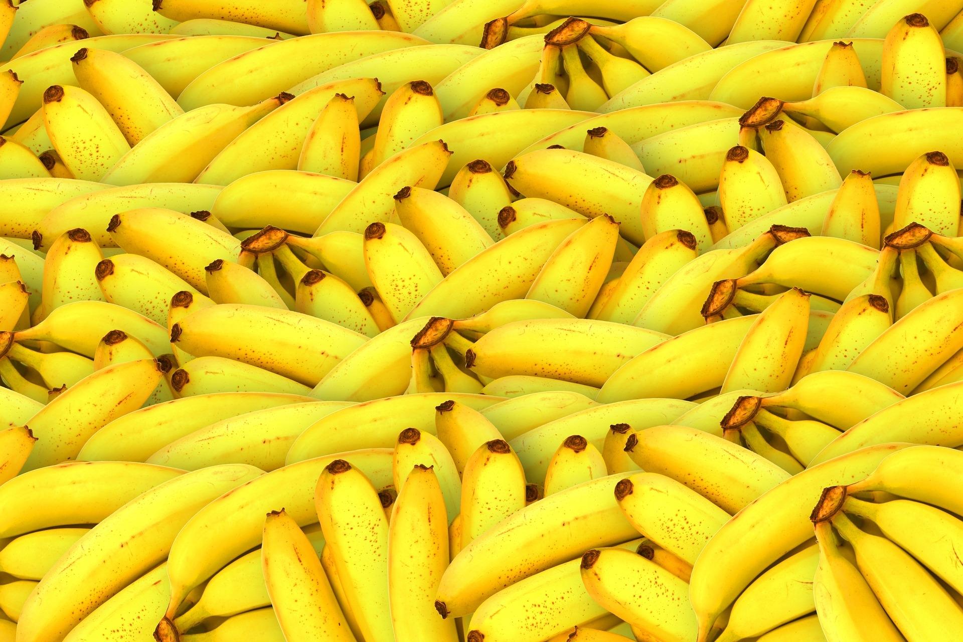 香蕉是世界上消耗量最大的水果之一  Pixabay