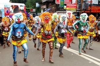 印度傳統舞蹈「虎舞」