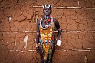 衣索比亞的哈瑪族女孩