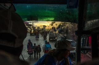 在玻利維亞的公車上