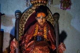 影像藝廊:尼泊爾的活女神