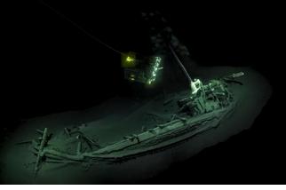 空前大發現!黑海深淵發現不朽千年古沉船