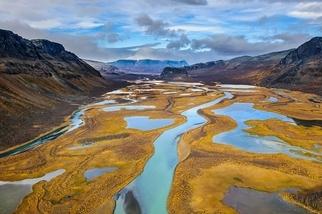 北國秋色:拉帕河三角洲