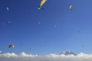 空中巡遊:富士山