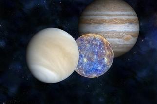 本週的五大「星」事:木星沉、水星起,金星伴月甜蜜蜜