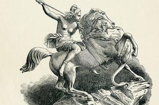 真的有驍勇善戰、不輸男子的亞馬遜女戰士