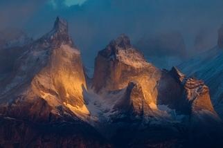 智利:群峰