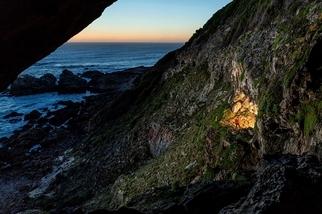 洞穴裡的藝術家
